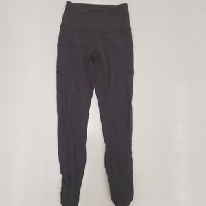 Lululemon | Mesh Side Panel Crop leggings